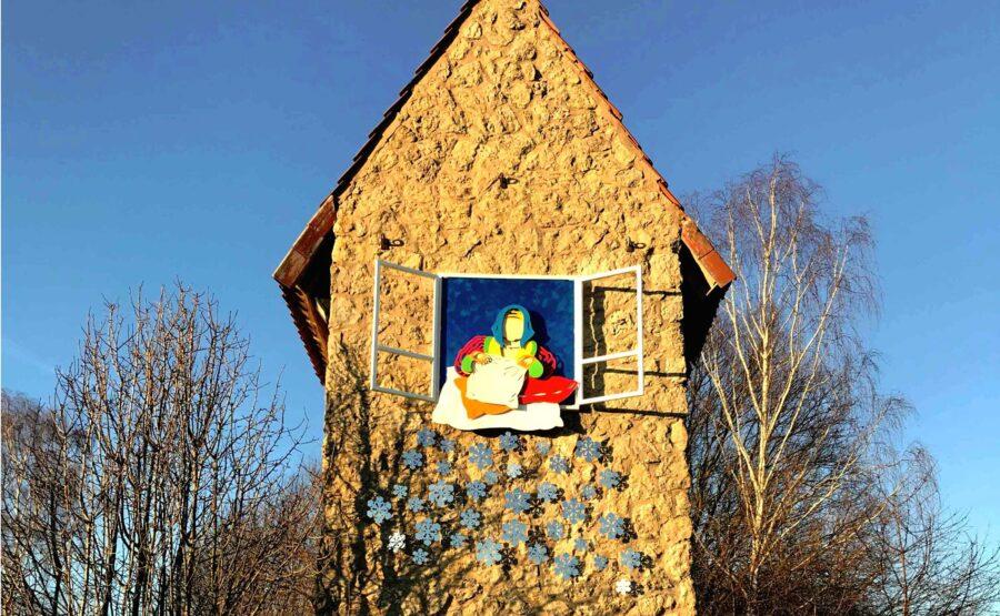 """""""Frau Holles Haus"""" H. Kalkmann"""