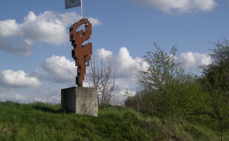 © Hans-Oiseau Kalkman Skulptur: EURO-DANCER