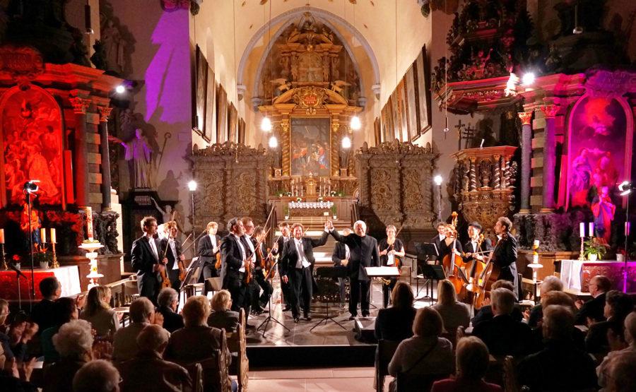 © Jürgen Zimmat Lamspringer September Konzert in der Klosterkirche