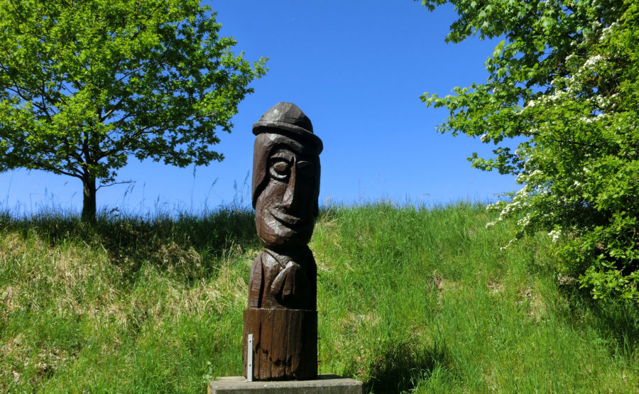 © Telle Schrader Skulptur: Heiliger Jacob