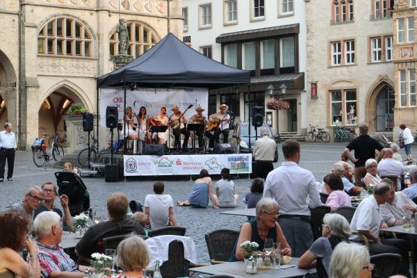© Hans-Ulrich Borchert Marktplatz Musiktage