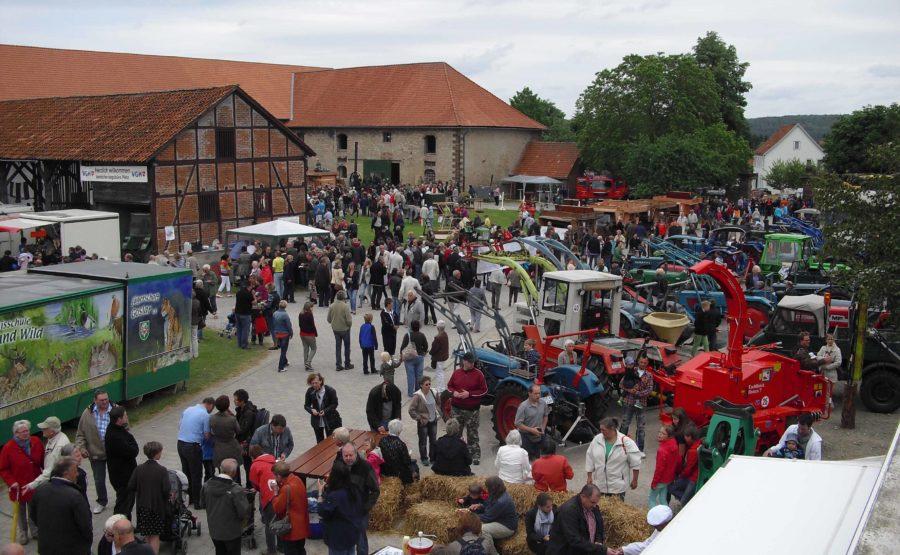 © Wofgang Pletz Lamspringer Dreschfest mit Gewerbeschau