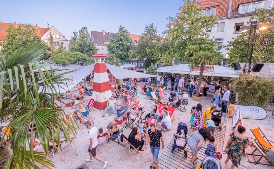 © Hildesheim Marketing GmbH, Foto: Clemens Heidrich Citybeach Hildesheim