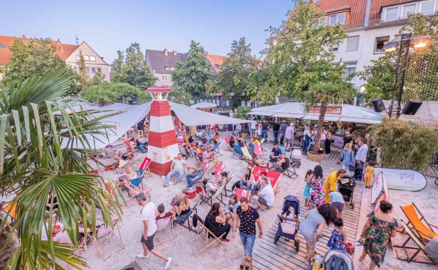 © Hildesheim Marketing GmbH, Foto: Clemens Heidrich Citybeach Hildesheim