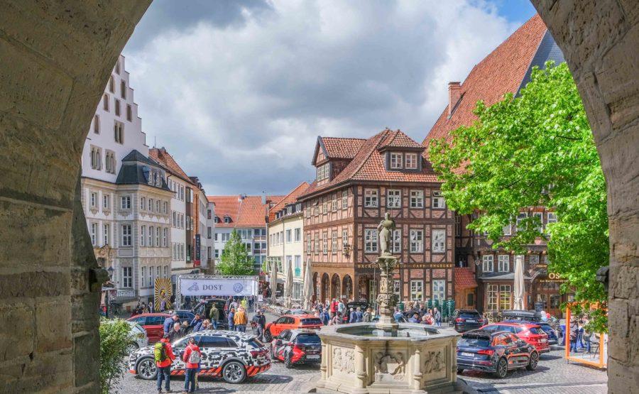 © Hildesheim Marketing GmbH, Foto: Clemens Heidrich Mobilitätsmeile Hildesheim